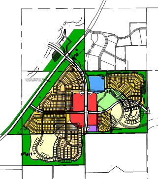 Trails at Crowfoot Zoning