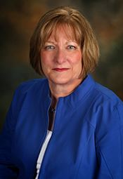 Photo of Mary Lou Brown, Finance Director.