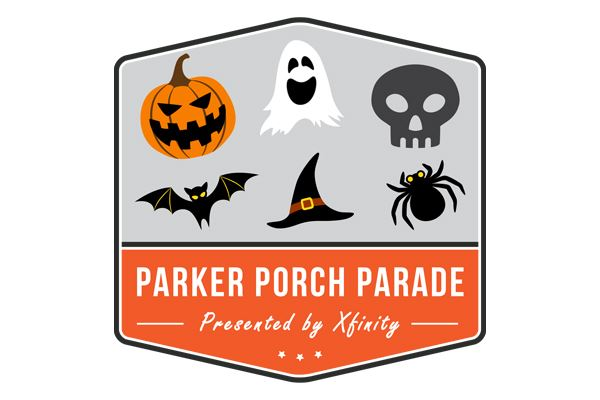 Parker Halloween Porch Parade logo