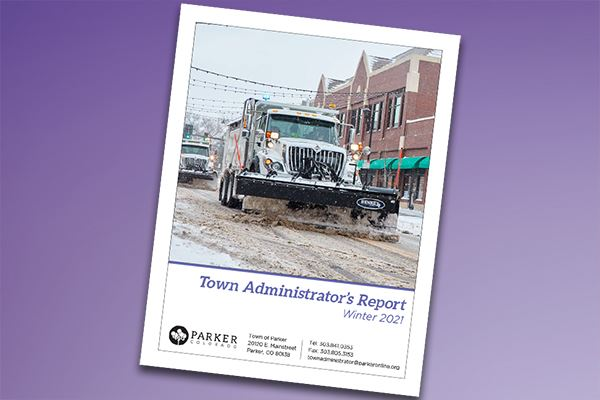 Town Administrator's Report - Winter 2021
