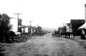 Parker Main Street 1890s