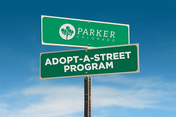 Adopt-a-Street Program - Street Sign Graphic
