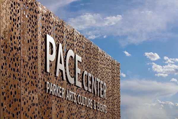 PACE Center Building Sign